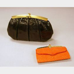 Two Judith Leiber Bags