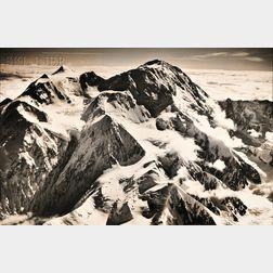 Bradford Washburn (American, 1910-2007)      Mt. McKinley