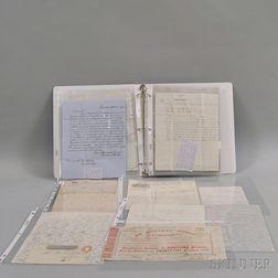 Collection of 19th Century Ephemera