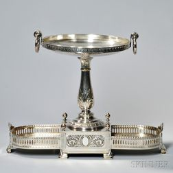 Neoclassical Silver-plate Centerpiece
