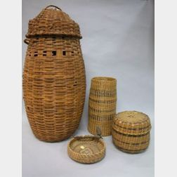 Four Assorted Northeast Baskets