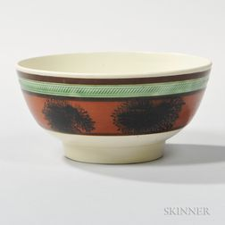 Small Mocha-decorated Bowl