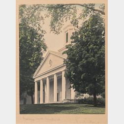 Paul Strand (American, 1890-1976)      College Hall - Amherst