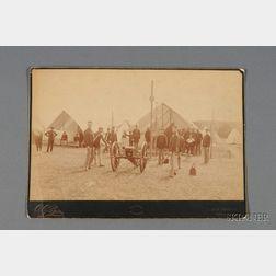 American Military Albumen Print