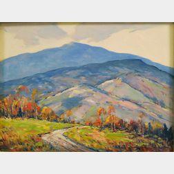 John F. Enser (American, 1898-1968)      Early Morning, New Hampshire.