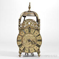 Richard Rayment Brass Lantern Clock