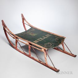 Painted Sled