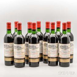 Chateau Troplong Mondot 1970, 11 bottles