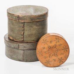 Three Round Pantry Boxes