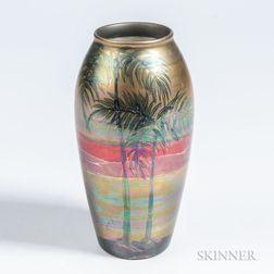 Weller LaSa Landscape Vase