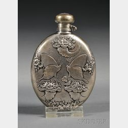 Small Tiffany & Co. Sterling Flask