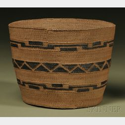 Tlingit Twined Basket
