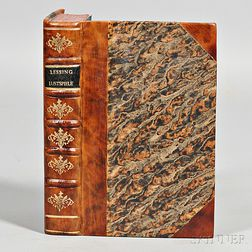 Lessing, Gotthold Ephraim (1729-1781) Lustspiele
