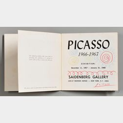 Picasso, Pablo (1881-1973) Signed Exhibition Catalog.