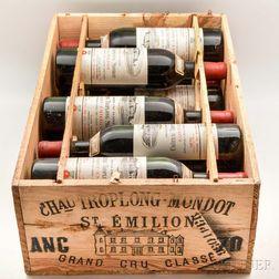 Chateau Troplong Mondot 1970, 11 bottles (owc)