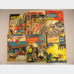 Six Golden Age and Silver Age Comics