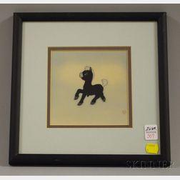 Walt Disney Productions Fantasia Black Baby Pegasus Animation Cell
