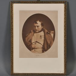 Braun, Clément & Co. (French, ac. 1877-1928), After Paul Delaroche (French,   1797-1856)    Napoleon I,