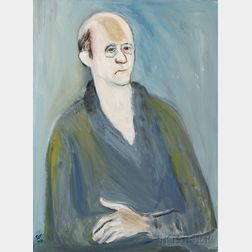 Gabriel Glikman (Russian, 1913-2003), Portraits of Mr. and Mrs. David and Klara (née Awinowick-Schpirt) Sklar of Nashua, New Hampshire