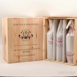 Poggione Brunello di Montalcino Riserva Vigna Paganelli 2006, 12 bottles (2 x owc)