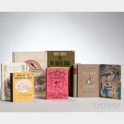 Children's Books, Mid-20th Century, Nine Volumes.