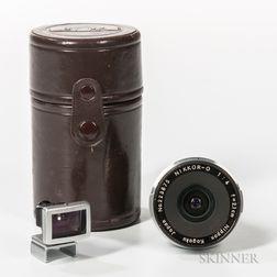 Nikkor-O 2.1cm f/4 Lens for Nikon F