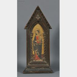 Italian School, 19th Century      Standing Madonna and Child, After Florentine School, 15th Century
