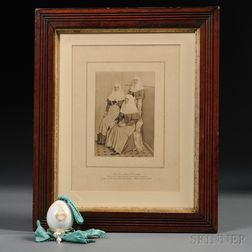 Presentation Imperial Porcelain Factory Easter Egg and Photogravure