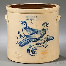 Ottman Brothers and Co. Stoneware Crock