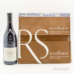 Roger Sabon Chateauneuf du Pape Prestige 2010, 6 bottles (oc)