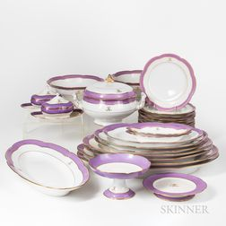 Paris Porcelain Partial Dinner Service