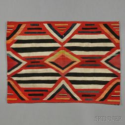 Navajo Third Phase Chief's-style Weaving