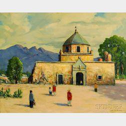 John F. Enser (American, 1898-1968)      Deserted Bishops Palace