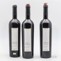Valdicava Madonna del Piano Brunello di Montalcino Riserva 1995, 3 bottles
