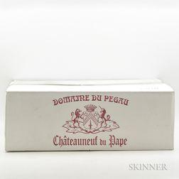 Domaine du Pegau Chateauneuf du Pape Cuvee Reservee 2010, 12 bottles (oc)