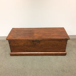 Pine Six-board Sea Chest