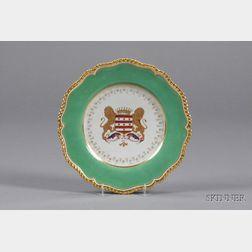 Twelve Flight, Barr and Barr Worcester Porcelain Plates