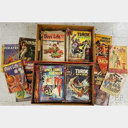 Approximately 300 Silver Age Gold Key Comics