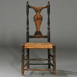 Country Queen Anne Side Chair