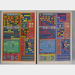 Sir Eduardo Paolozzi (British, 1924-2005)      Four Works: Multi-Channel Prototype