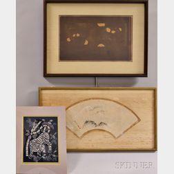Three Framed Japanese Works