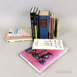 Group of Reference Books on Antique Pewter and Pottery