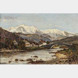 Frank Henry Shapleigh (American, 1842-1906)      Alpine Village