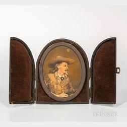 "Portrait of William Frederick ""Buffalo Bill"" Cody"