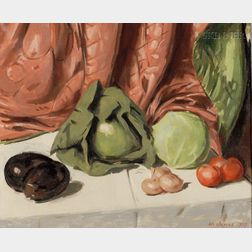 William James (American, 1882-1961)      Still Life with Vegetables