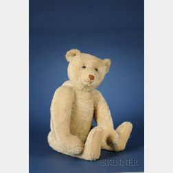 Large Steiff White Mohair Teddy Bear
