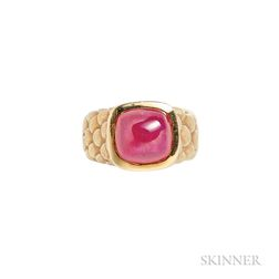 18kt Gold and Ruby Ring, Angela Cummings