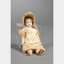 Small Bisque Head Doll