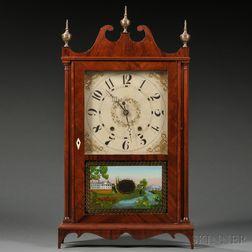 Two Seth Thomas Pillar and Scroll Shelf Clocks