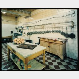 Jim Dow (American, b. 1942)      Kitchen, Argentina